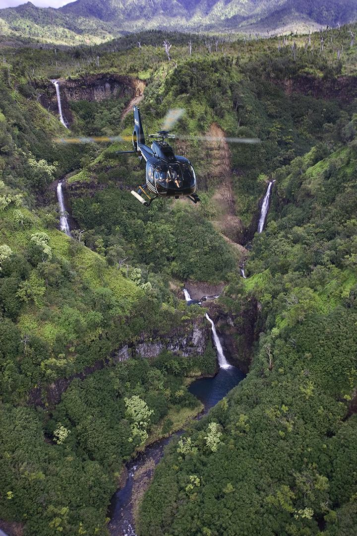 Hawaiian Helicopter Tour