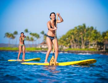 Stand Up Paddleboarding on Kauai