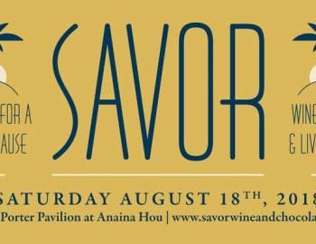 SAVOR wine, food & live music