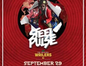 Steel Pulse flyer