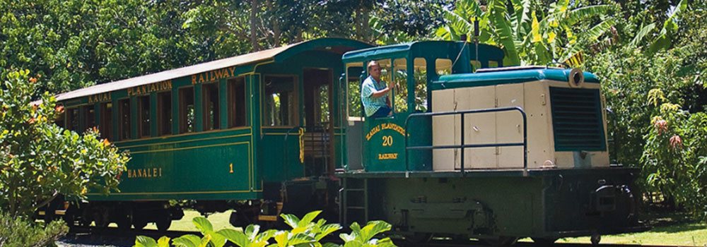 Kauai Plantation Train | Kauai Activities | Oceanfront Rentals on Kauai